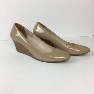 Cole Haan Tail Luxe Wedge Pump Grand.Os  size 7 B